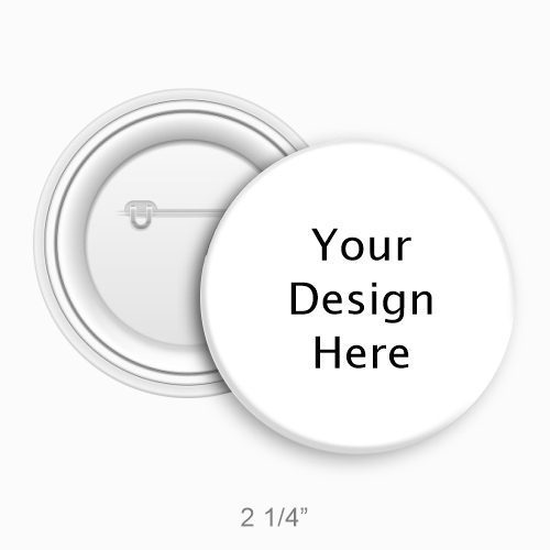 2 1/4 Inch Round Custom Buttons