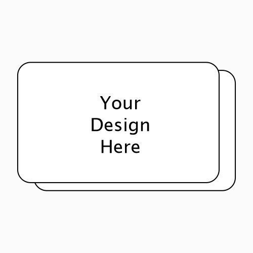 Rounded Corners Horizontal Business Card